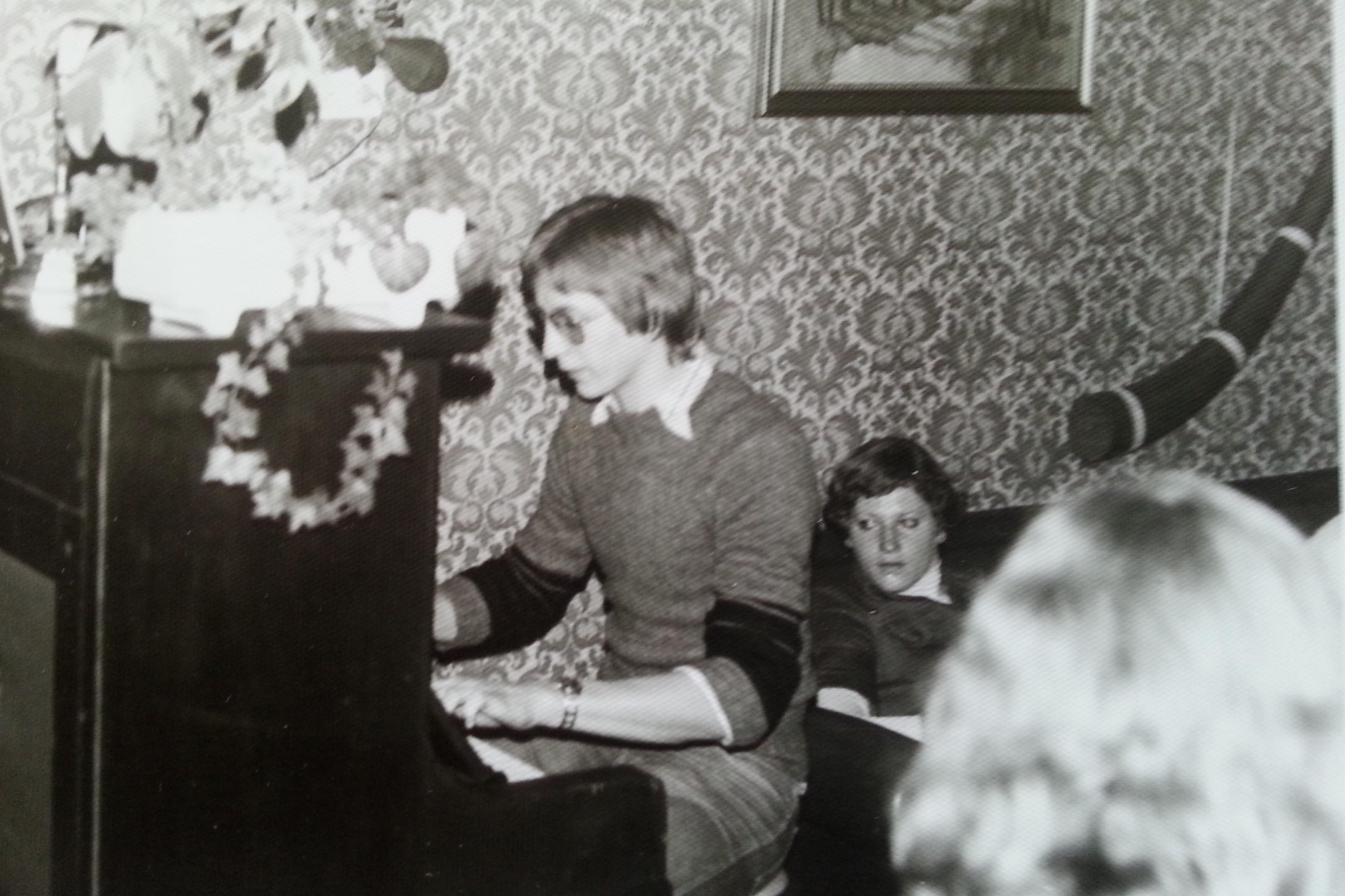 Verjaardagsfeestje bij Marja / 1971