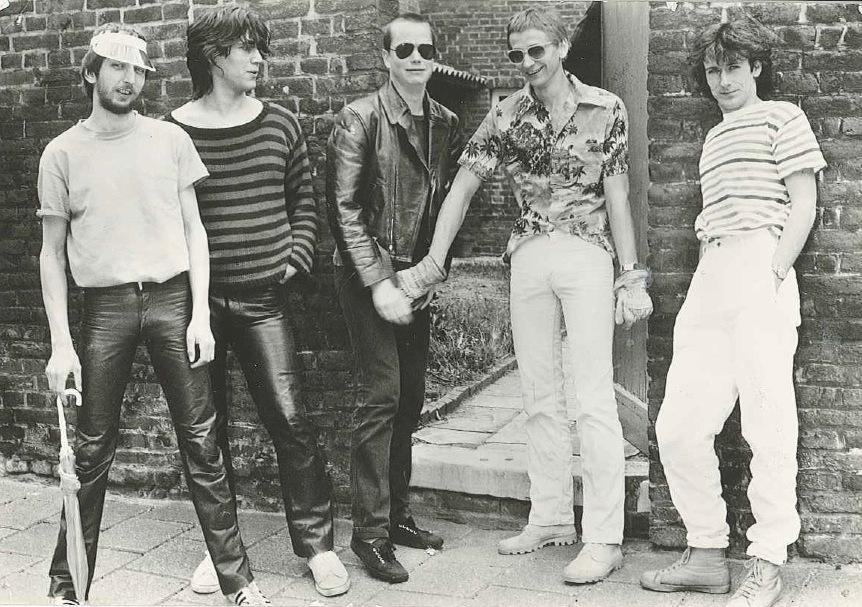 Persfoto Toontje Lager / 1980